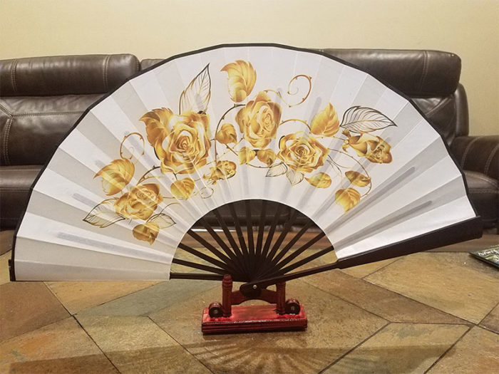 Hand Fan decoration