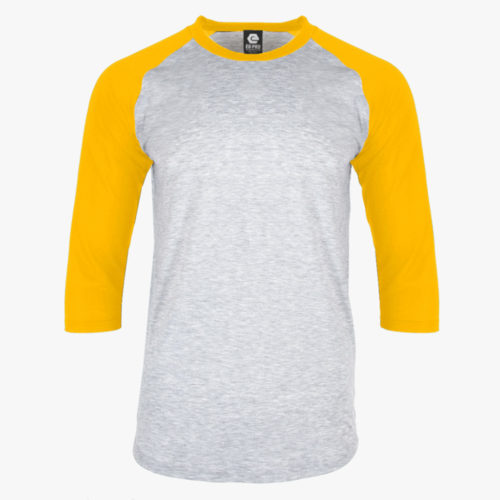Yellow and Grey Shirt