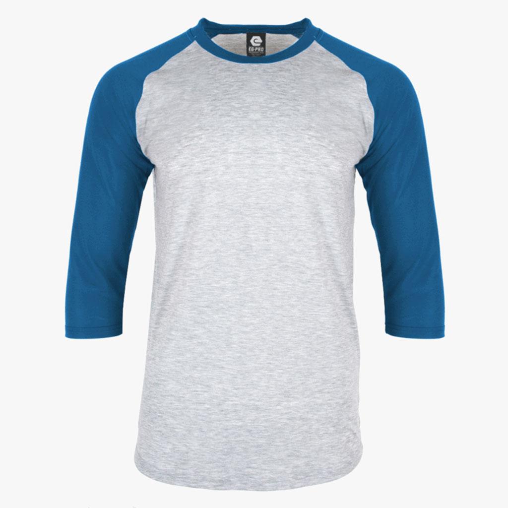 Blue and Grey Shirt