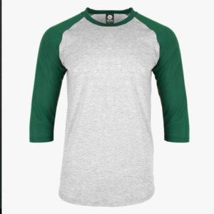 Green and Grey Shirt