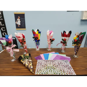 Vinyl Bouquets
